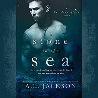 A Stone in the Sea     Bleeding Stars, Book 1              By:                                                                                                                                 A.L. Jackson                               Narrated by:                                                                                                                                 Andi Arndt,                                                                                        Sebastian York                      Length: 9 hrs and 33 mins     2,449 ratings     Overall 4.4