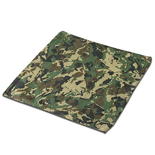 GCDT Toalla cuadrada 3d abstracta militar camuflaje ultra suave y altamente absorbente toallas de mano paños para el hogar, hotel, spa, cocina 33 x 33 pulgadas