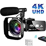 Best Camcorders - 4K Camcorder Video Camera,Vlogging Camera for YouTube 30MP Review