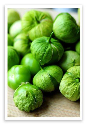 Orgánica mexicana tomate de cáscara tomatillo 50+ Semillas Salsa Verde esencial para no GMO