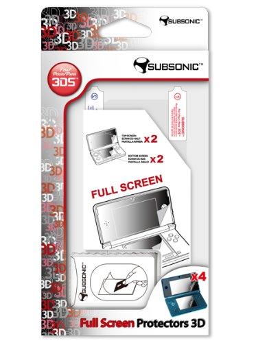 4 protections d'écrans pour 3DS/Dsi