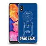 Official Star Trek USS Enterprise NCC-1701 Ships of The Line TOS Hard Back Case Compatible for Samsung Galaxy A10e (2019)