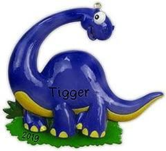Hobby Home Accessories Dinosaur (Blue) Personalized Christmas Ornament 2019   Custom Christmas Dinosaur (Blue) Ornament Gift
