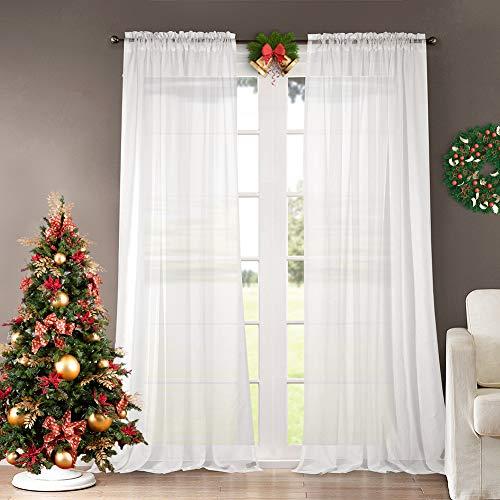 Dreaming Casa -   Vorhang Weiß Voile