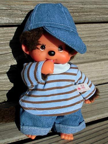Puppenkleidung handmade für MONCHICHI Gr. 20 cm MONCHHICHI Bekleidung Shirt + JEANS + Käppi Kleidung Puppenkleidung