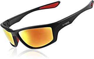 Cool Change Polarized Sports Sunglasses TR90 Unbreakable Frame Comfortable Sport Driving Fishing Cycling Glasses for Men Women