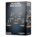 Games Workshop Warhammer 40k Model Miniatures - Chaos Cultists