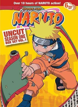 NARUTO UNCUT SEASON 1 V.1 BOX SET - NARUTO UNCUT SEASON 1 V.1 BOX SET (6 DVD)