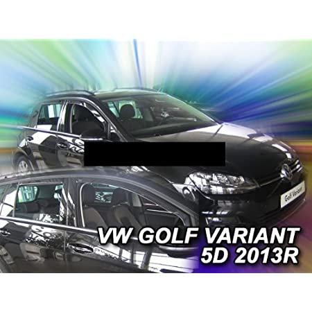 Heko Z902077 Wind And Rain Deflector For Golf A5 5 07 Variant Estate 5 Door For Front And Rear Auto