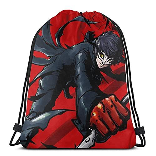 Bolsas de cuerdasBolsa Sport Gym Saco Bolsas de regalo de fiesta Envoltura Bolsa de regalo Mochila Bolsas de almacenamiento Bolsas de regalo Bolsas de cincho - Persona 5 Yusuke Kitagawa