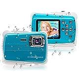 [Updated 2019 Model] ISHARE Kids Camera, waterproof kids camera best gifts for Girls/Boys