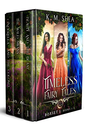 Timeless Fairy Tales: Books 1-3: Beauty and the Beast, Wild Swans, Cinderella and the Colonel (Timeless Fairy Tales Boxset Book 1)