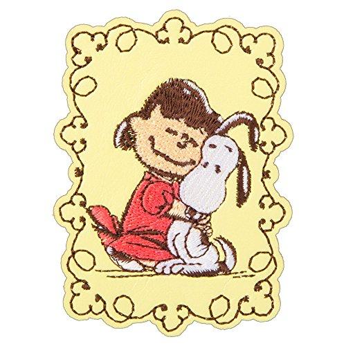 Minoda Snoopy broderie en cuir de style faux Dekoshiru PUPPY S02R8696