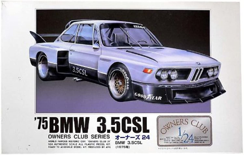 1 24 `75 BMW 3.5CSL (Model Car) Micro Ace(Arii) Owners Club 24 No.08