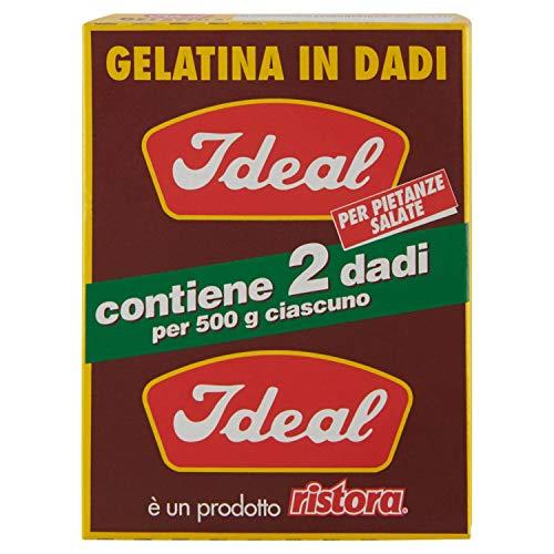 Ideal Gelatina in Dadi, 50g