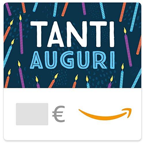 Buono Regalo Amazon.it - Digitale - Candeline di compleanno