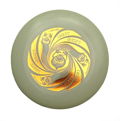 Discraft Ultimate Frisbee Ultra Star Night Ghost 175g Night Glow nachtleuchtend (Gold)