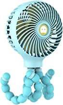 YAOHEHUA Octopus vervorming kleine ventilator drie-speed grote wind opladen mini handheld kleine ventilator