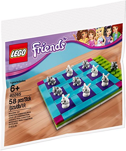 LEGO - 40265 FRIENDS Häschen und Kätzchen...