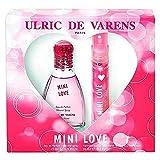 Love fragances Ulric de Varens Paris Mini Love Eau de Perfume 25ml Vapo. + Eau De perfume 20ml Vapo