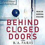 Behind Closed Doors audiobook cover art