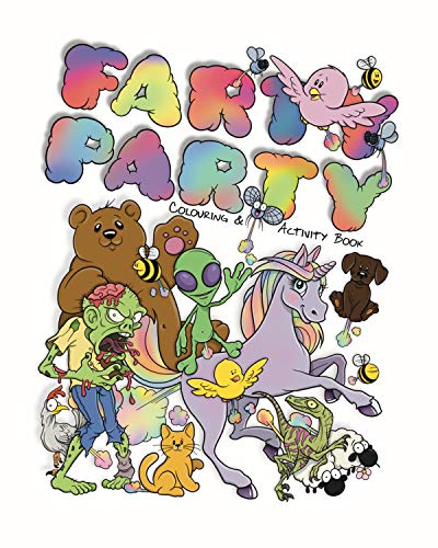 Farty Party: Colouring & Activity Book