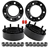 4 PCS 2 inch 6x5.5 Hub Centric Wheel Spacers with for Tacoma 4Runner Tundra Fortuner Ventury GX470 GX460, 2' Forged 6x139.7mm Wheel Spacer with 12x1.5 Studs & 106mm Center Bore