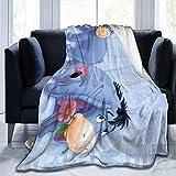 Dyfcnaiehrgrf Ee-Yore All Season Light Weight Hypoallergenic Ultra-Soft Micro Fleece Blanket Throw Super Soft Blanket 50'X40'