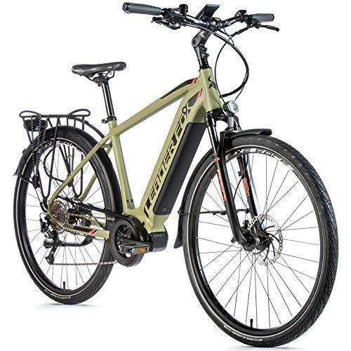 28 Zoll Trekking E Bike Leader Fox Lucas Gent Pedelec Elektro Fahrrad Rh 57cm Oliv B-Ware