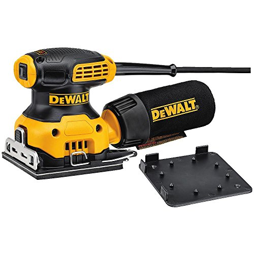 DeWalt DWE6411 Orbital Finish Sander for Trim Work