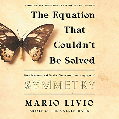 The Equation That Couldn't Be Solved audiobook cover art