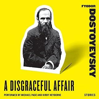 A Disgraceful Affair: Stories audiobook cover art
