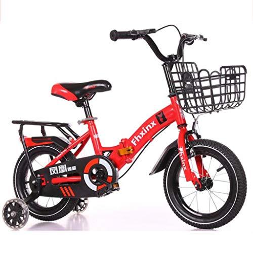 K-G Bicicleta Infantil Plegable de los niños en Bicicletas Tamaño 12