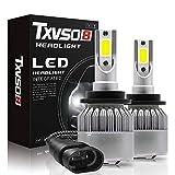 TXVSO8 LED D2S/D2R/D4S/D4R Auto Headlight Bulb Conversion Kit 55W Car Lamp Light 6000K Pure White Lighting 12V--1 Year Warranty