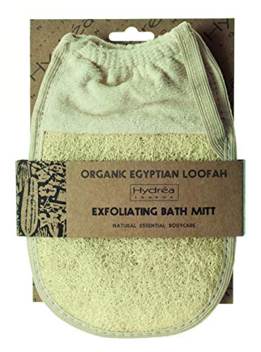 Hydrea London Gant organique exfoliant en luffa égyptien