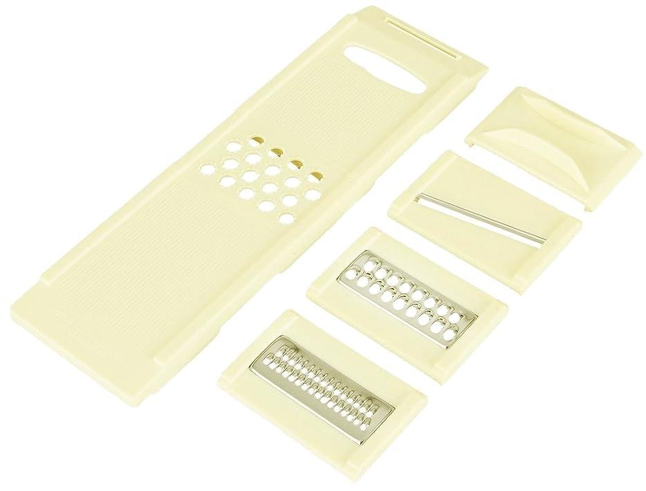 青写真ミシンピストン貝印 Kai House Select カセット式調理器セット (スライス?千切?ツマ切?おろし) DH-7077