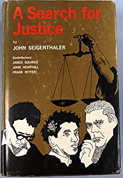 A search for justice 0876950039 Book Cover