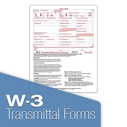 W-2 Tax Forms 2019 - Tangible Values 6-Part Laser Tax Form Kit with Envelopes - Accounting & QuickBooks Software Compatible, 50 Pack Photo #4