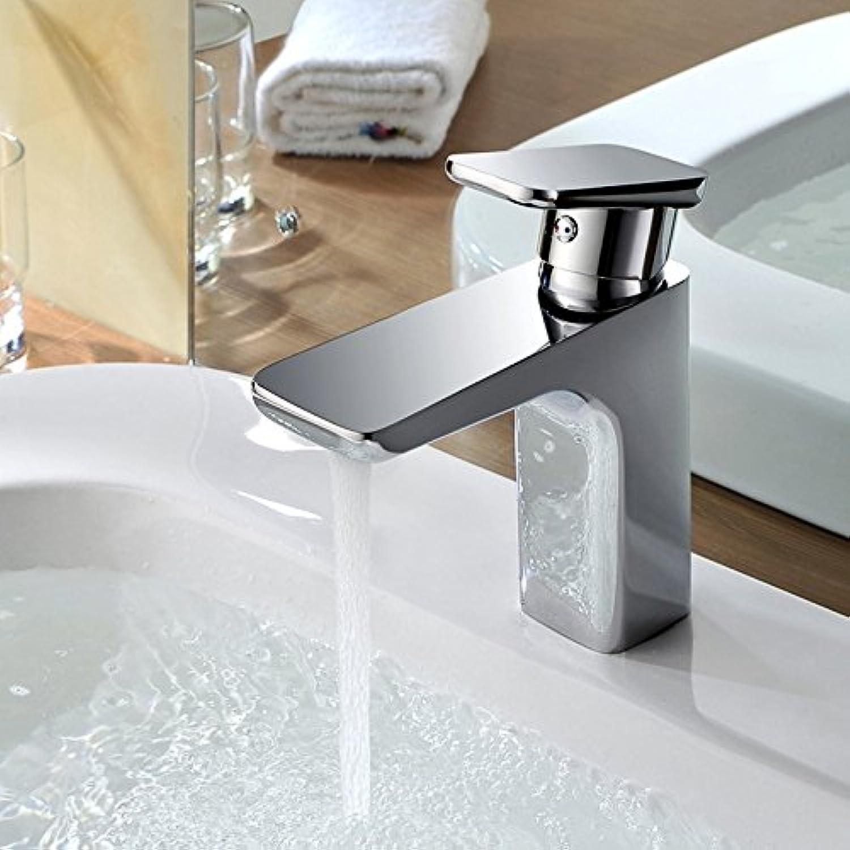 Yuyu19-SLT Wasserhahn Küche Einhebelmischer Spültisch Armatur Küchenarmatur Spültischarmatur Spülbecken Mischbatterie Messingfarbene Farbe matt, Chrom