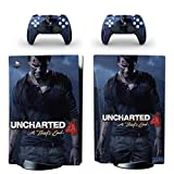 TSWEET Uncharted 4 PS5 Standard Disc Edition Skin Sticker Decal...