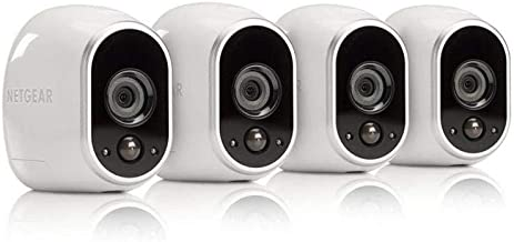 Arlo - Wireless Home Security Camera System with Motion Detection | Night vision, Indoor/Outdoor, HD Video, Wall Mount | C...