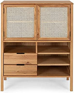 The kashth Solid Wooden Storage Cabinet for Living Room   Kitchen   Home Furniture   Multipurpose Cabinet