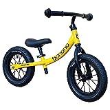 Banana Bike GT - Bicicletta Senza Pedali per Bambini - 2, 3, 4 e 5 Anni di età (Giallo)