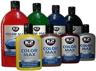 K2 Color Max politura do lakieru samochodowego, politura woskowa, politura z woskiem Carnauba, wielkość pojemnika: 200 ml;...