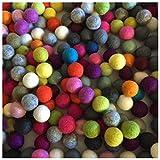 Terrapin Trading Fair Trade Nepal Wolle-Kugel Filz Bunte