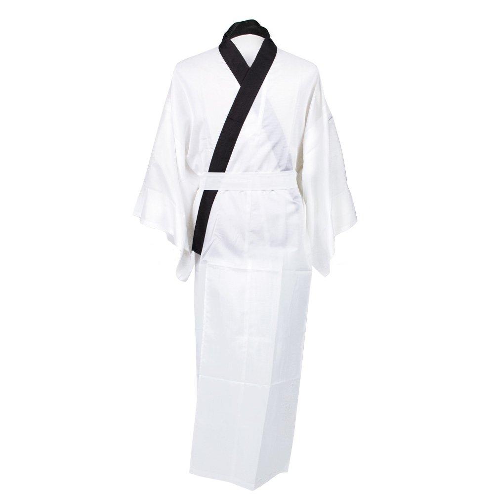 KYOETSU 男士日本和服夏季内衣 Nagajuban 可洗