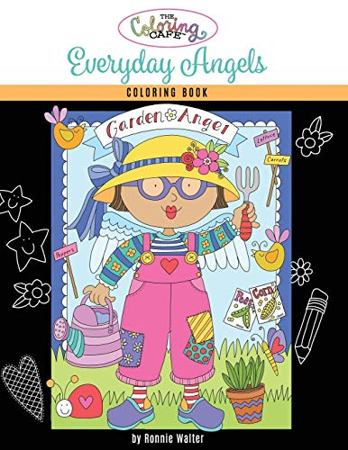 The Coloring Cafe-Everyday Angels