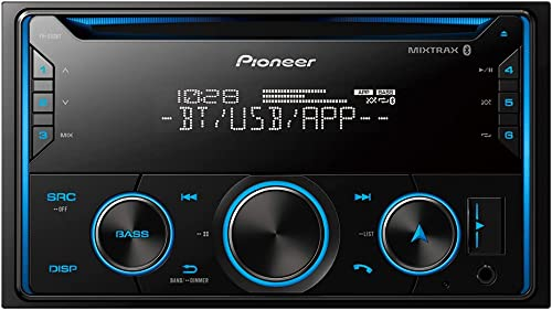 new arrival Pioneer lowest FH-S52BT Double DIN CD Receiver with Improved 2021 Pioneer Smart Sync App Compatibility, MIXTRAX, Built-in Bluetooth sale