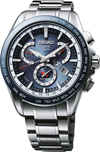 Seiko Herren Chronograph Solar Uhr mit Edelstahl Armband SSE053J1