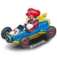 Carrera Toys GO!!! Mario Kart Mach 8 Set Pista da Corsa e Due Macchinine con Mario e Luigi, Gioco Adatto per Bambini dai 6 Anni, Multicolore, 20062492 #2